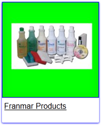 Franmar Products, Screen Printing Cleaning Chemicals, Franmar Chemical, Buckets of Ink