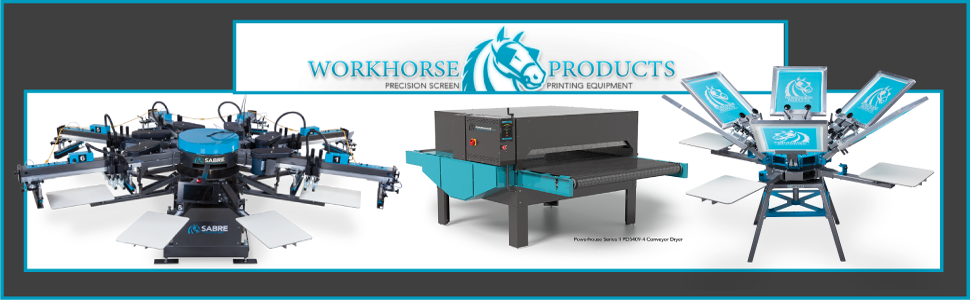Workhorse Products, Buckets of Ink, Buckets of Ink Screen Printing Supplies, Arizona Screen Printing Supplies, 24/7 Screen Printing Supplies