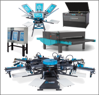 Screen Printing Equipment, Workhorse Products, Silk Screen Equipment, Printing Equipment