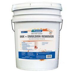 One-Step Clear (Ink & Emulsion Remover) Dip Tank Chemicals 5 Gallon Thumbnail
