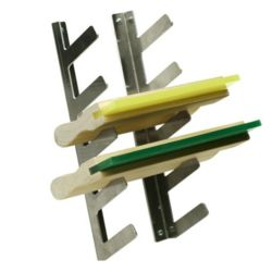 Screen Printing Squeegee Rack System Thumbnail